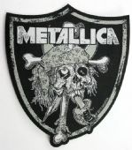 Metallica - 'Raiders Skull' Woven Patch